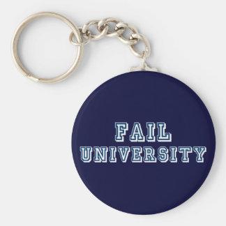 Fail University Basic Round Button Keychain