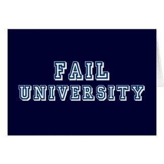 Fail University Card