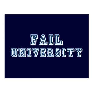 Fail University Postcard