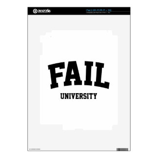 Fail University Skins For iPad 2