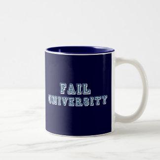 Fail University Two-Tone Coffee Mug