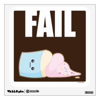Fail Wall Sticker