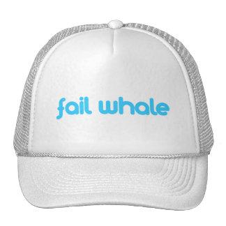 fail whale trucker hats