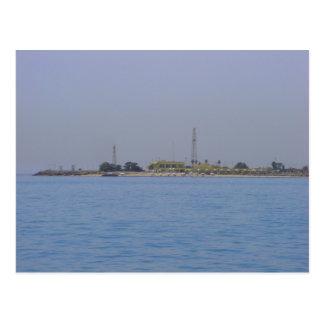 Failaka Island coastline, Kuwait Postcard