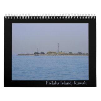 Failaka island, Kuwait calendar 2009