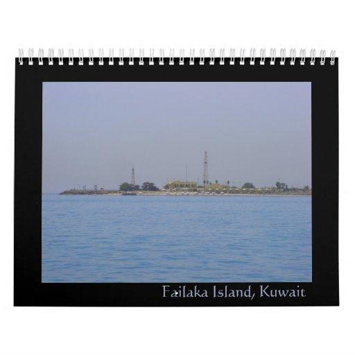 Failaka island, Kuwait calendar 2011