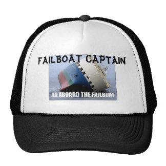 failboat, FAILBOAT CAPTAIN Trucker Hat