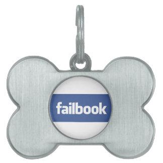 failbook pet name tag