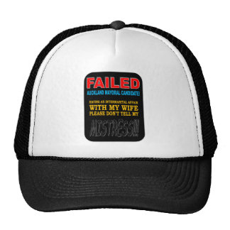 FAILED MAYORAL CANDIDATE TRUCKER HAT
