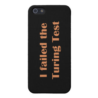 Failed the Turing Test iPhone SE/5/5s Cover