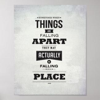 "Failling Apart - 8""x10"" Art Print"