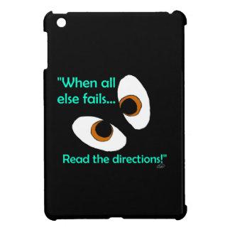 Fails read directions iPad mini covers