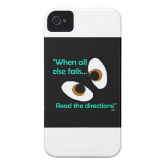 Fails read directions iPhone 4 cover