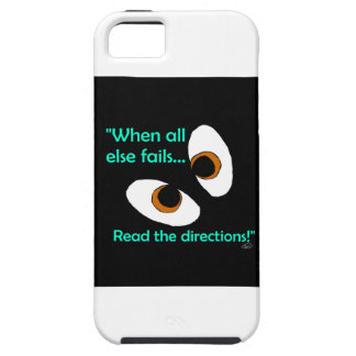 Fails read directions iPhone SE/5/5s case