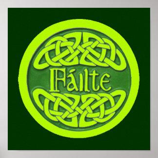 Failte - Cead Míle Fáilte Poster