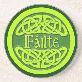 Failte - Cead Míle Fáilte Sandstone Coaster