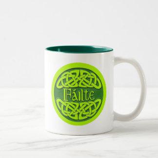 Failte Two-Tone Coffee Mug