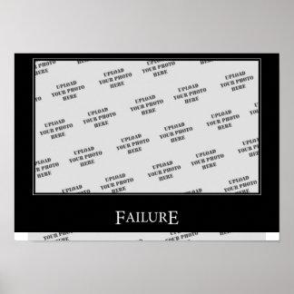 Failure DeMotivational Template Print