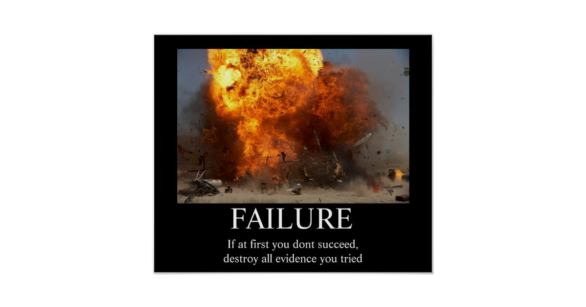 Funny Motivational Posters | Zazzle