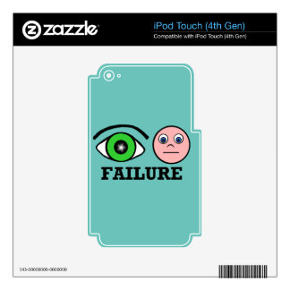 Failure iPod Touch 4G Skins