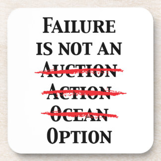 Failure is not an Option Coasters