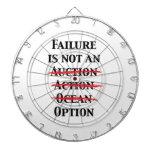 Failure is not an Option Dartboard