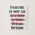 Failure is not an Option Jigsaw Puzzles