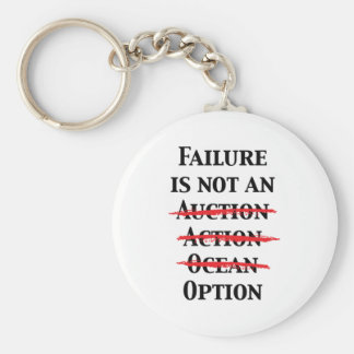Failure is not an Option Keychain