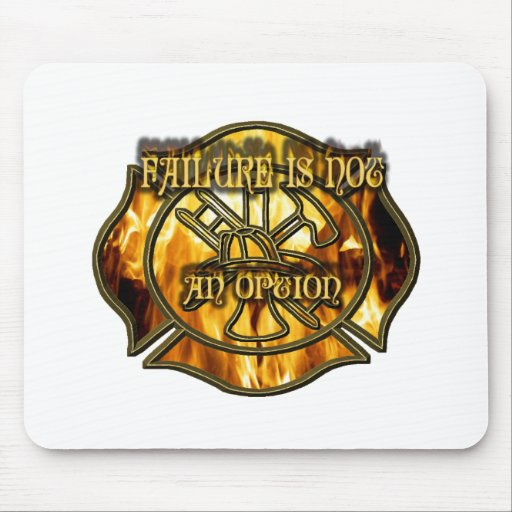 Failure is Not an Option Mouse Pad