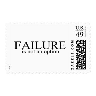 Failure Is Not An Option Postage