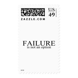 Failure Is Not An Option Stamps