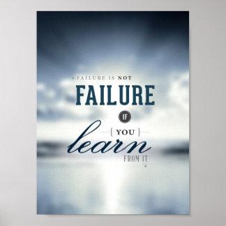 """Failure is not Failure - 8""""x10"""" Art Print"""