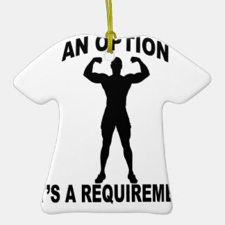 FAILURE ITS NOT AN OPTION ITS REQUIRMENT.png Christmas Tree Ornament