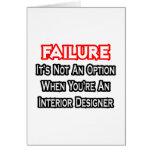 Failure...Not an Option...Interior Designer Card