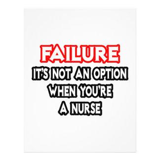 Failure Not an Option Nurse Flyer