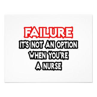 Failure...Not an Option...Nurse Custom Announcements