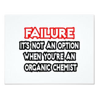 Failure...Not an Option...Organic Chemist Card