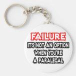Failure...Not an Option...Paralegal Key Chain