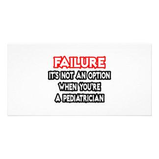 Failure...Not an Option...Pediatrician Photo Card Template