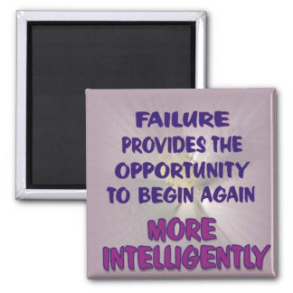 failure provides opportunity 2 inch square magnet
