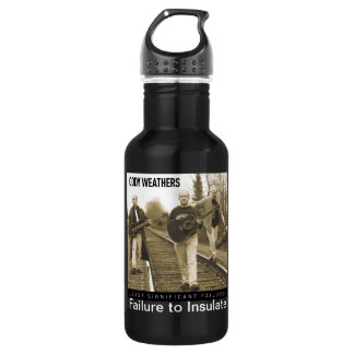 Failure to Insulate Stainless Steel Water Bottle