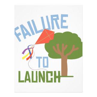 Failure To Launch Letterhead