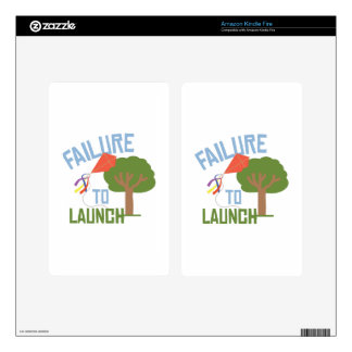 Failure To Launch Skin For Kindle Fire