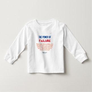Failure Toddler T-shirt