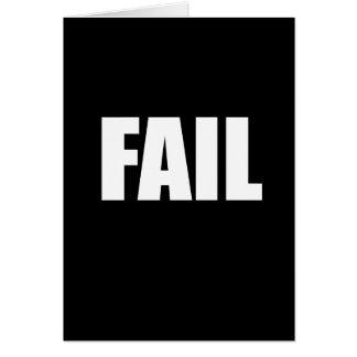 failwht card