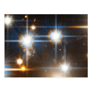 Faint White Dwarf Star in Globular Cluster NGC 639 Postcard