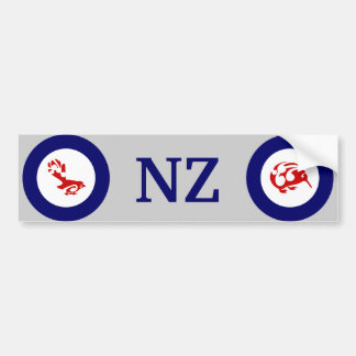 Faintail New Zealand Aotearoa Bird Bumper Sticker