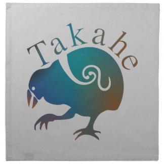 Faintail New Zealand Aotearoa Bird Napkin