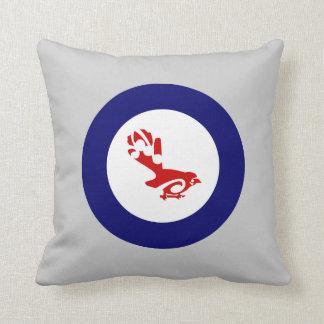 Faintail New Zealand Aotearoa Bird Throw Pillows