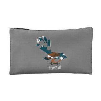 Faintail Piwakawaka Cosmetic Bag